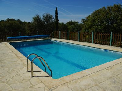 Photo for T4 house with pool on Mont Ventoux