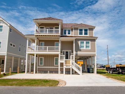 Photo for Signature Series 16 Person, 6 Bedroom Beauty with Dedicated Beach Access Minutes Walk Away
