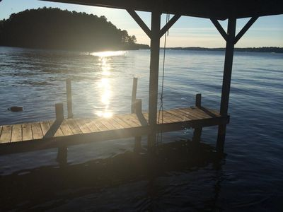 Photo for Beautiful Lake Front property less than 1 mile from Golf Course!