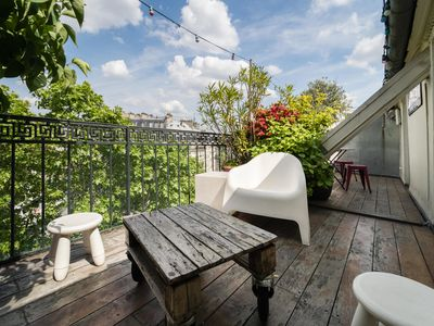 Photo for Superb apartment with terrace
