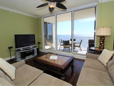 Photo for Indigo East 1004- Beach Front Unit with Luxurious Interior and Amenities!