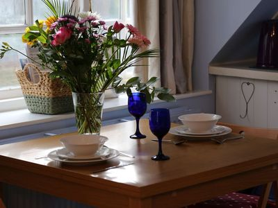 Photo for Self catered Coach House near Bath, sleep 4 with private entrance, marble bathroom, parking, Wifi