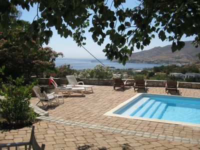 Photo for Villa Oleander-Stunning sea views and gorgeous outdoor spaces