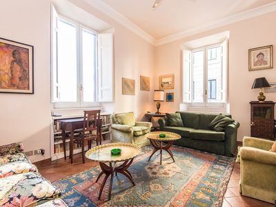 Photo for Apartment in the center of Rome with Internet, Lift, Washing machine (11241)