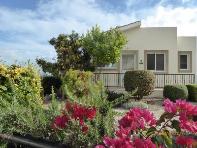 Photo for Lovely Villa in Peyia, Private Pool, Spectacular Mountain & Sea Views