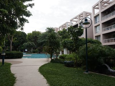 Photo for Spacious 120sqm Beach Front Condo