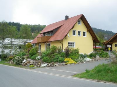 Photo for Large, modern apartment with balcony in ehem. Mining town Goldkronach
