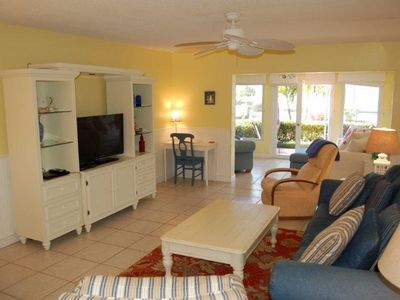 Photo for Sunset Royale - 118- Bright and Beachy Across from beautiful Siesta Key Beach!