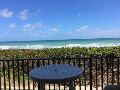 Photo for Beachfront Sand Dollar Shores/Relax as you listen to the waves!