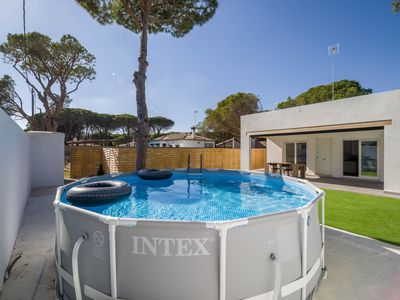 """Photo for Modern Holiday Home """"Chalet Camino Granado"""" with Pool, Garden & Terrace; Parking Available"""