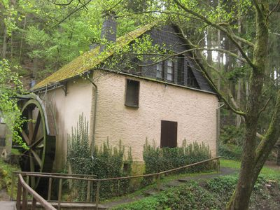 Photo for Old farm mill with a water wheel rebuilt as a vacation home