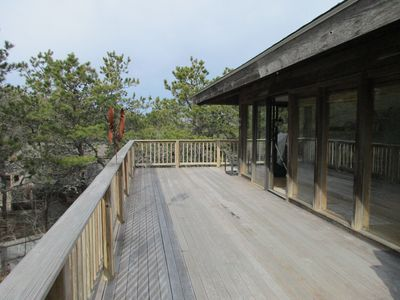 Photo for Wellfleet Contemporary with Tree Top Views