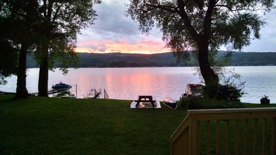 Photo for R & R at Honeoye Lake