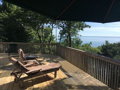 Photo for Gorgeous Views of Lake Michigan- 5  to 7 minute walk to the beach !