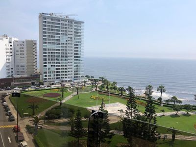 Photo for OCEAN AND PARKVIEW APARTMENT IDEAL FOR FAMILIES.  IN FRONT OF THE MALECON