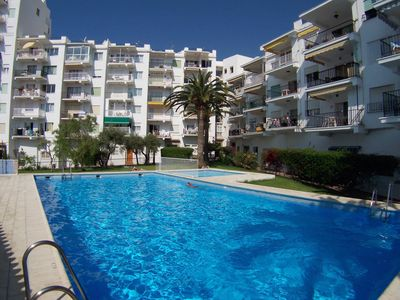 Photo for Modern apt with A/C, free wifi & lift, close to the Parador & beach in Nerja