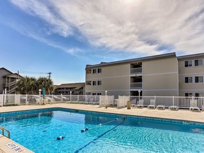 Photo for NEW! Myrtle Beach Condo - 1 Block From the Beach!