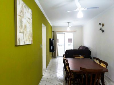 Photo for Apt 2 bed / 60m from the Beach / Gourmet Balcony / Pool / Wi-Fi / 1 car parking