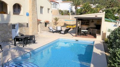 Photo for Villa for large families, private pool, sea view