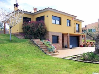 Photo for Villa next to golf club & 5km beach with private pool