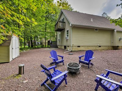 Photo for 'The Cuckoo's Nest' Pocono Lake House w/Deck