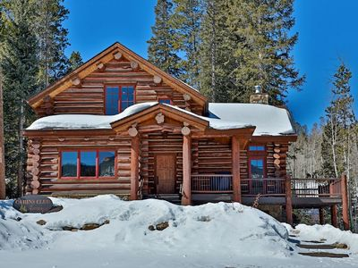 Photo for Custom Log Home in Downtown Winter Park: 1 block to shops, dining & nightlife
