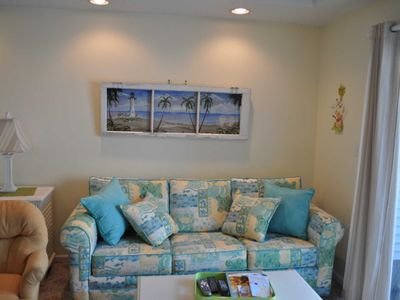 Photo for NEW LISTING Steps to beach, Second  Level, Private Parking, Linen included Unit 10