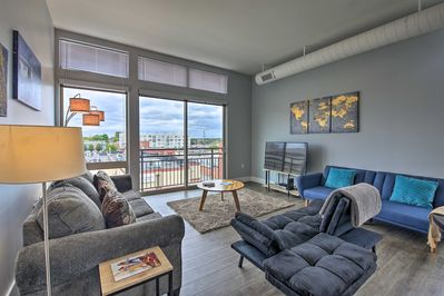 Book your trip to this modern Indianapolis vacation rental condo.