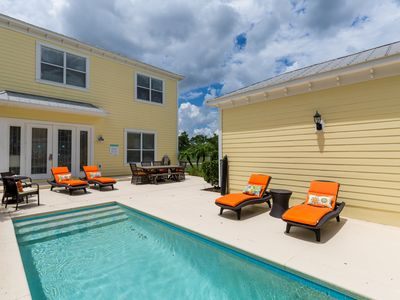 Photo for Luxury Modern Fun 4 Bed Home, Private Pool, 6 Miles to Disney - Great Value Rate