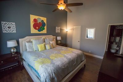 Master Bedroom - Master Retreat w/ a Cal King bed so soft and plush, you'll never want to leave the room!
