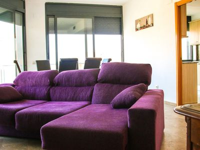 Photo for Spacious apartment with a large terrace