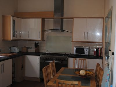 Photo for A Spacious 2 bedroom seafront apartment with a balcony