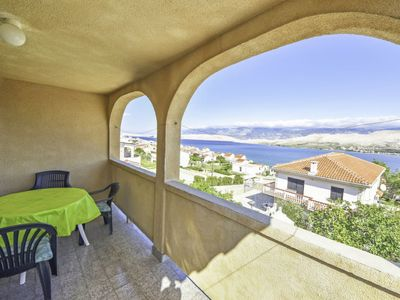 Photo for Apartment Branka in Pag/Pag - 5 persons, 1 bedrooms