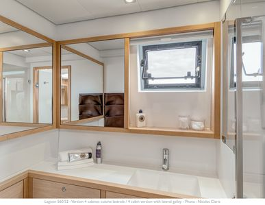 Every Cabin has it's own ensuite bathroom