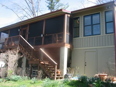 Photo for Beautiful Lake Summit Home And Boathouse- Close To Asheville, Tryon, Flat Rock