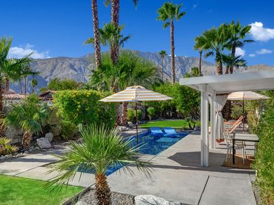 Photo for Wow! – Tramview - Pool Paradise, Pet Friendly,1962 Mid Century,Mountain Views
