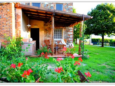 Photo for Typical Tuscan house: with garden 1000 Sqm, Panoramic Views, Wi-Fi, Fireplace.