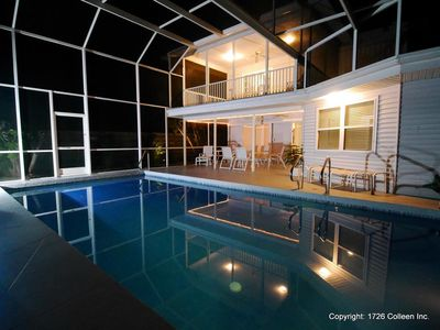 Photo for Villa Colleen 4 BR 4 BA, solar heated Pool near Siesta Key Beach