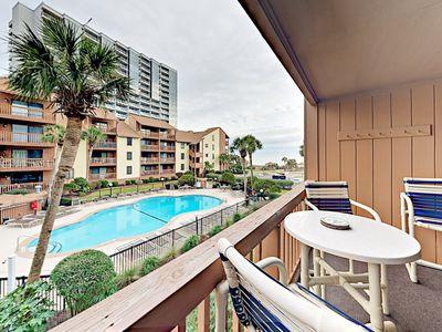 Photo for Anchorage Aweigh - Sparkling Pool, Grill Area, Steps to Beach!