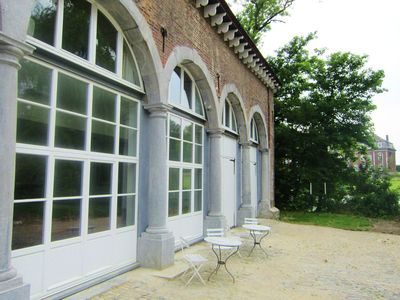 Photo for Cozy Holiday Home in Gembloux with Gym