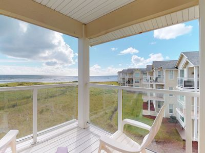 Photo for Dog-friendly, waterfront condo w/ shared pool & hot tub