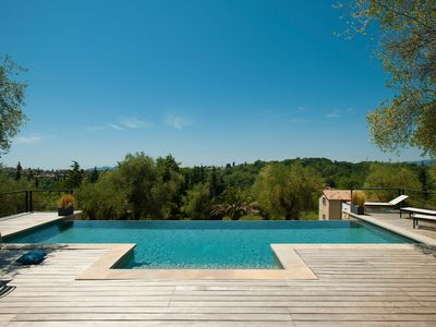 "Photo for ""BRAMAFAM""LUXE PROPERTY. 2Hectar garden. CLOSE TO CANNES/VALBONNE.VAT INCLUDED !"