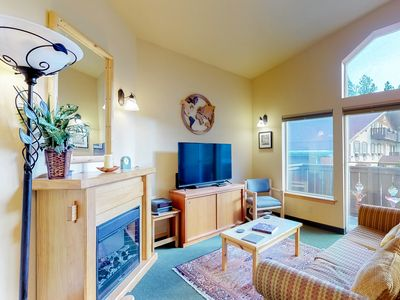Photo for NEW LISTING! Bright condo w/balcony, shared pools & hot tubs-walk downtown