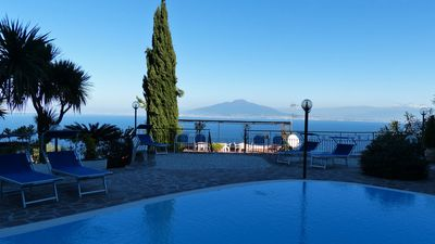 Photo for VILLA PRIORA 12 - HOLIDAY PENTHOUSE VILLA - PRIORA - SORRENTO - SORRENTO COAST