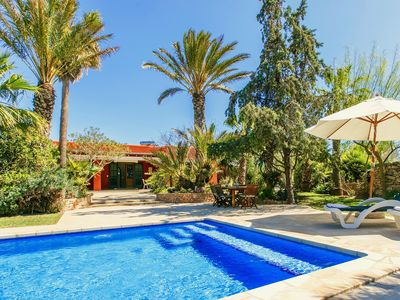 Photo for Lovely Villa Curitiba in Ibiza, with private pool, 3 bedrooms, 6 sleeps.