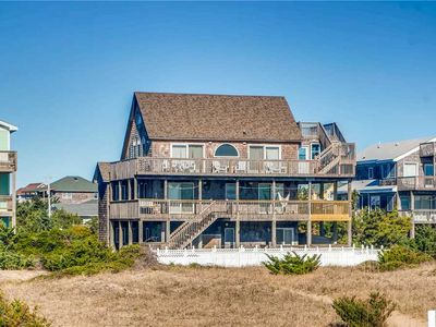 Photo for Expansive Oceanfront Views in Salvo w/ Pool, Hot Tub, Game Room, Dog-Friendly
