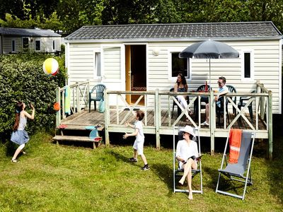 Photo for Camping De L'Eve **** - Mobile home Atlantic 3 Rooms 4/6 People
