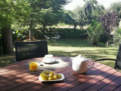 Photo for Begues: HOUSE WITH POOL NEAR BARCELONA AND BEACHES, PERFECT FAMILIES.