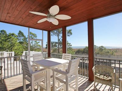 Photo for Available Now! Bright and Tranquil Beachfront Rental with Unobstructed Gulf Views & Private Comm