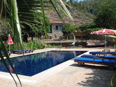 Photo for _Kayakoy stony house_excellent location big private pool